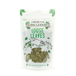 King Catnip Loose Leaves For Cats 35g