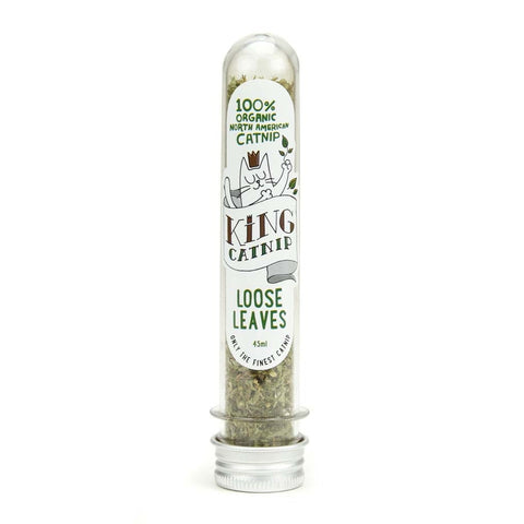 King Catnip Loose Leaves For Cats 45ml