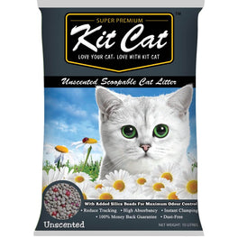 Kit Cat Classic Clump Unscented Cat Litter 10L
