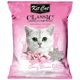 Kit Cat Classic Clump Cherry Blossom Clay Cat Litter 10L
