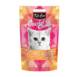 Kit Cat Crystal Clump Cotton Candy Cat Litter 4L