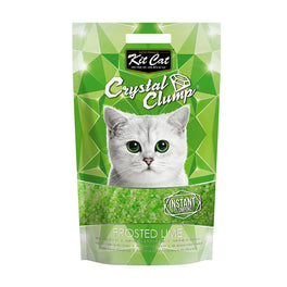 Kit Cat Crystal Clump Frosted Lime Cat Litter 4L