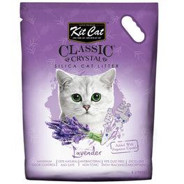 Kit Cat Classic Crystal Lavender Silica Cat Litter 5L