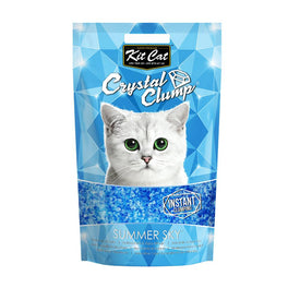 Kit Cat Crystal Clump Summer Sky Cat Litter 4L