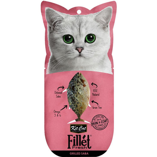 Kit Cat Fillet Fresh Grilled Mackerel Cat Treat 30g