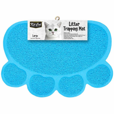 Kit Cat Litter Trapping Mat (Blue) - Kohepets