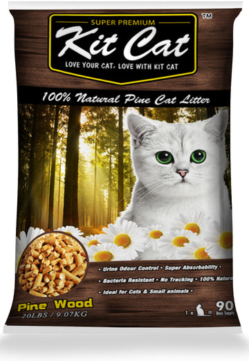 Kit Cat Natural Pine Cat Litter - Kohepets