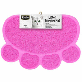 Kit Cat Litter Trapping Mat (Pink)
