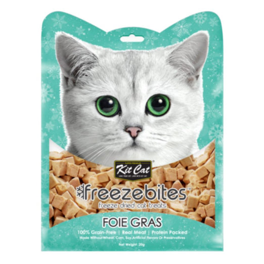 Kit Cat Freeze Bites Foie Gras Grain Free Cat Treats 15g