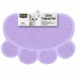 Kit Cat Litter Trapping Mat (Light Purple)