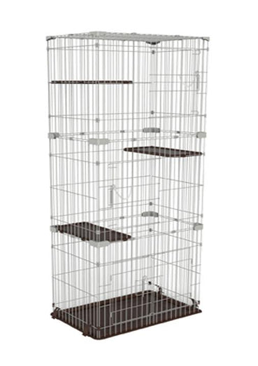 Marukan Cat Friend Room Slim 3 Level Cat Cage