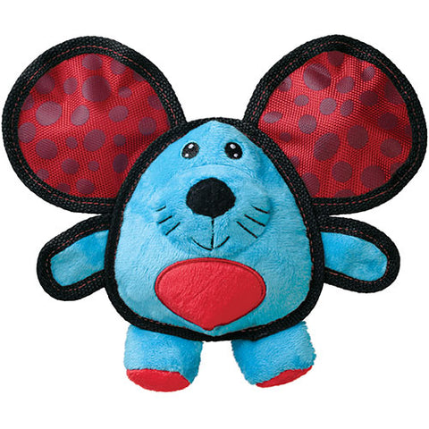 KONG Ballistic Ears Mouse Dog Toy - Kohepets
