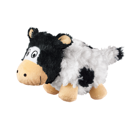 KONG Barnyard Chruncheez Cow Dog Toy Small - Kohepets