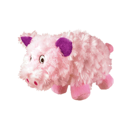 KONG Barnyard Chruncheez Pig Dog Toy Small