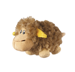 KONG Barnyard Chruncheez Sheep Dog Toy Small