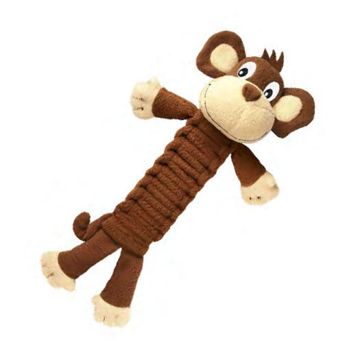 KONG Bendeez Monkey Dog Toy Large