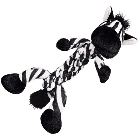 KONG Safari Braidz Zebra Dog Toy - Kohepets