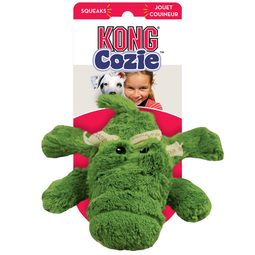 Kong Cozie Ali The Alligator Small Dog Toy