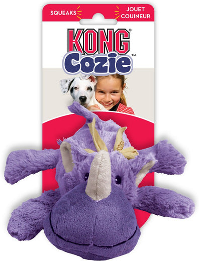 Kong Cozie Rosie The Rhino Small Dog Toy - Kohepets