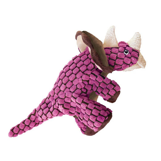 KONG Dynos Triceratops Dog Toy Small