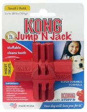 Kong Jump N Jack Dental Dog Toy Small - Kohepets