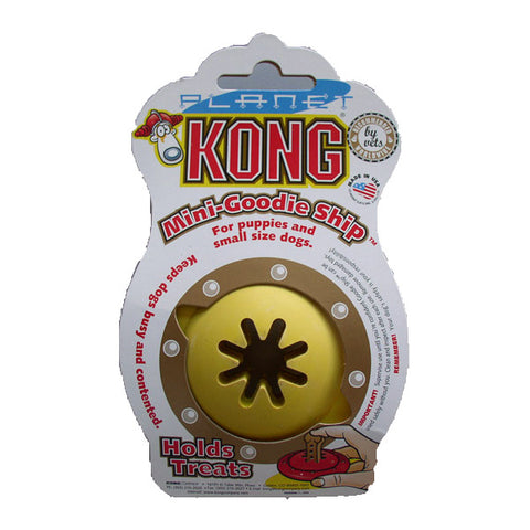 KONG Mini Goodie Ship Dog Toy