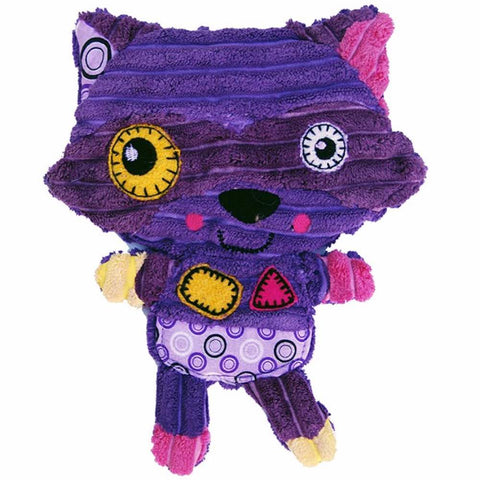 Kong Romperz Raccoon Purple Dog Toy - Kohepets