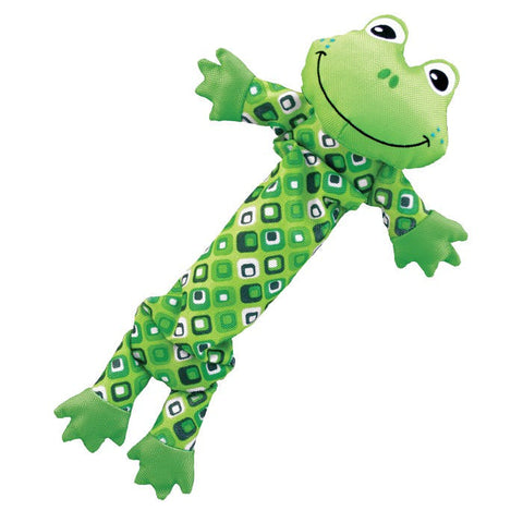 KONG Stretchezz Frog Doy Toy Large - Kohepets