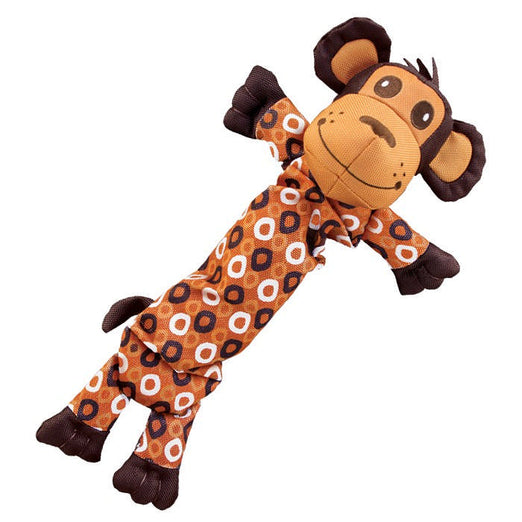 KONG Stretchezz Monkey Dog Toy Medium