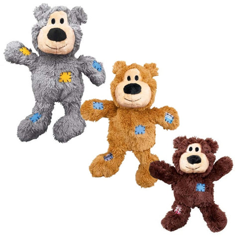 KONG Wild Knots Bear Dog Toy Small/Medium
