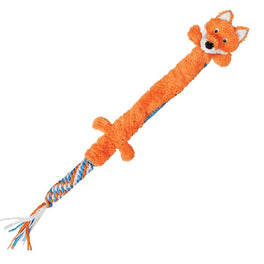 KONG Winders Tails Fox Dog Toy Large