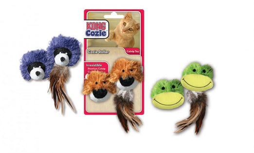 Kong Cozie Rollers Cat Toy - Kohepets
