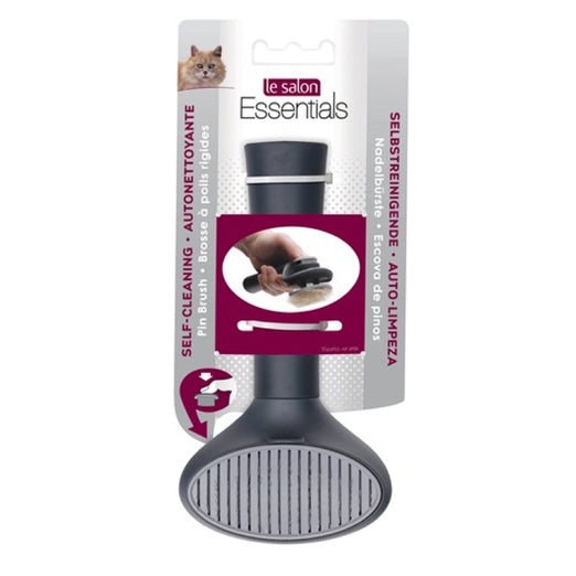 Le Salon Essentials Self-Cleaning Cat Slicker Brush - Kohepets