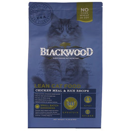 Blackwood Lean Formula Chicken Meal & Rice Dry Cat Food 4lb