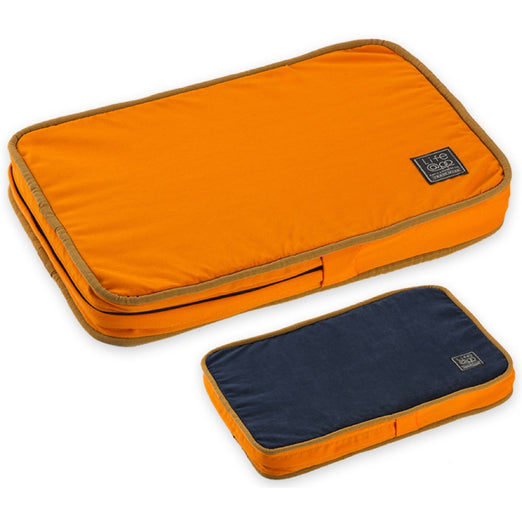 30% OFF: LifeApp Soothing MicroFiber Orthopedic Pet Bed (Orange) - Kohepets