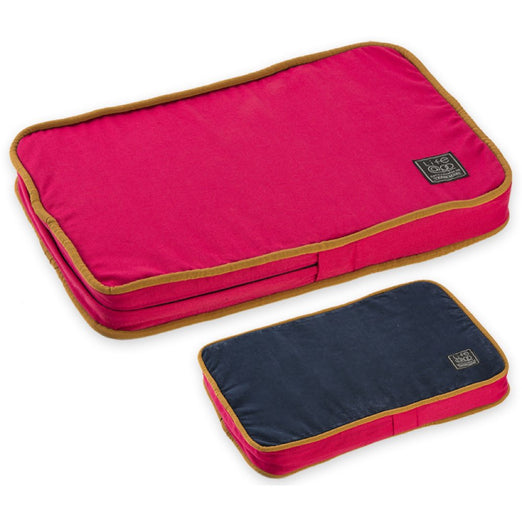 30% OFF: LifeApp Soothing MicroFiber Orthopedic Pet Bed (Red) - Kohepets