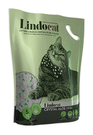 Lindocat Crystal Aloe Vera Silica Gel Cat Litter 5L