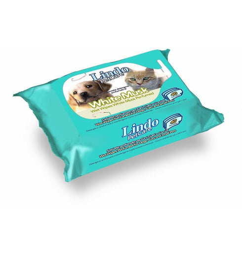 Lindocat Scented Pet Wipes 40 sheets - Kohepets