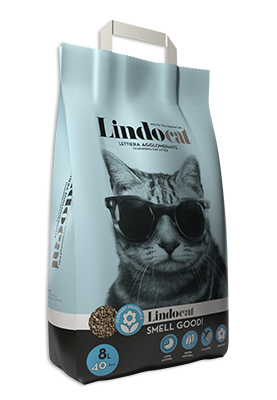 Lindocat Smell Good Clumping Clay Cat Litter 8L