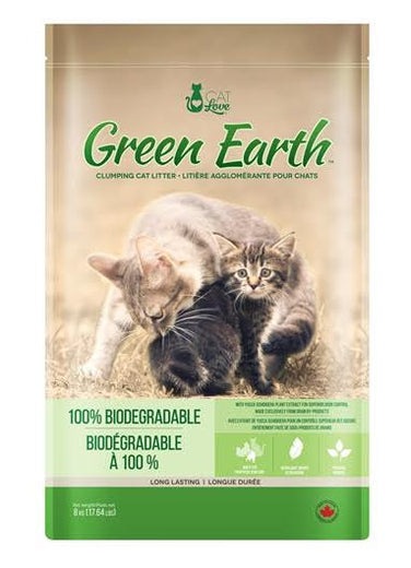 Cat Love Green Earth Multi-Cat Biodegradable Clumping Cat Litter 8kg - Kohepets