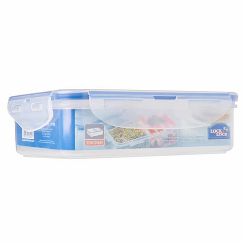 Lock & Lock Airtight Dry Food Storage Container With Divider 550ml