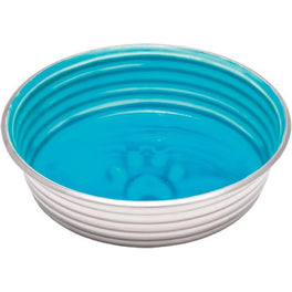 Loving Pets Le Bol Stainless Steel Dog Bowl (Seine Blue)