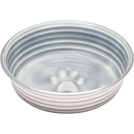 Loving Pets Le Bol Stainless Steel Dog Bowl (Parisian Gray)