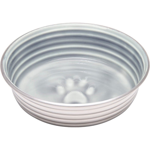 Loving Pets Le Bol Stainless Steel Dog Bowl (Parisian Gray) - Kohepets