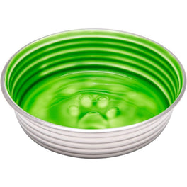 Loving Pets Le Bol Stainless Steel Dog Bowl (Chartreuse Green)