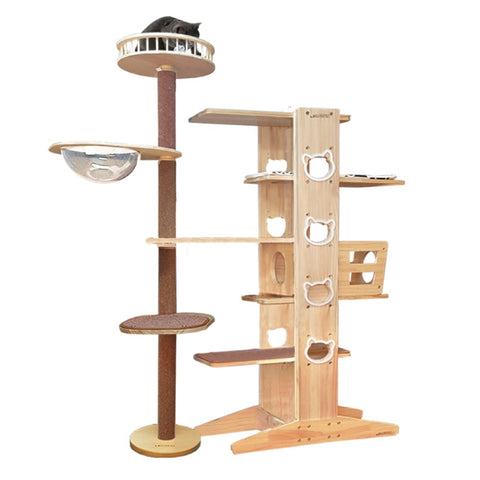 Luxypet Aaron 5-3 Set 2 Tower Cat Condo - Kohepets