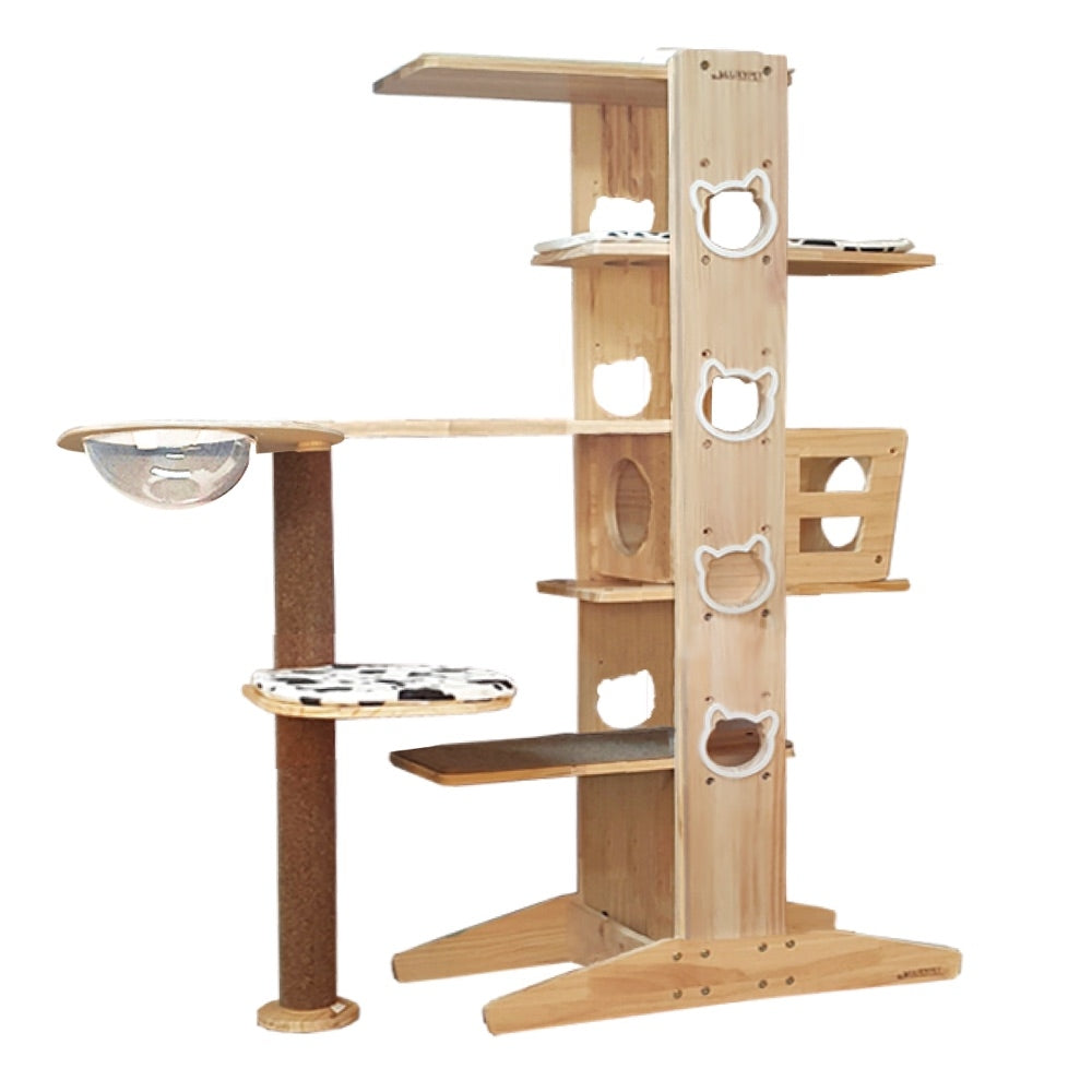 Luxypet Aaron 5 1 Set 1 Tower Hammock Cat Condo Kohepets