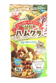Marukan Granola With Fruits And Vegetable For Hamster 70g