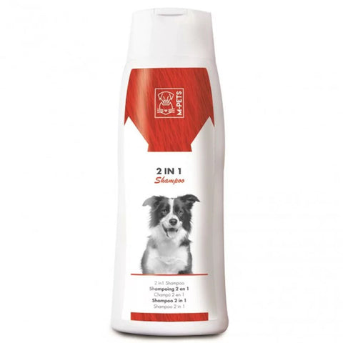 10% OFF: M-Pets 2 in 1 Dog Shampoo 250ml - Kohepets