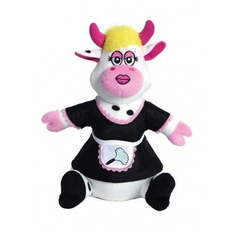 Dogit Luvz Maid Cow with Squeaker Dog Toy - Kohepets